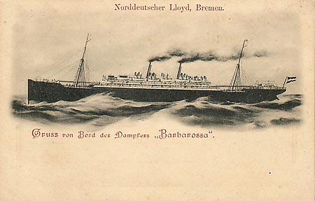 Ångaren Barbarossa